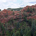 Hiking The Mesa Trail In Red Rocks Canyon Colorado by Steve Krull