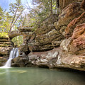 Hocking Hills Waterfall by Michael Shake