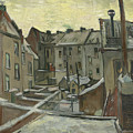 Houses Seen From The Back by Vincent Van Gogh