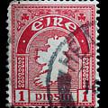 Irish Postage Stamp by James Hill