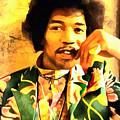 Jimmy Hendrix by Galeria Trompiz