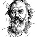 Johannes Brahms 1833-1897 by Granger