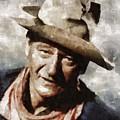 John Wayne Hollywood Actor by Mary Bassett