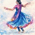 Kathak Dancer by Asha Sudhaker Shenoy