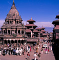 Kathmandu In Nepal by Carl Purcell