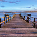Lake Pier - England by Joana Kruse