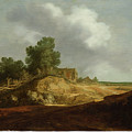 Landscape With A Cottage by Pieter de Molijn