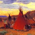 lrs Sharp Joseph Henry Evening Crow Reservation Joseph Henry Sharp by Eloisa Mannion