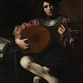 Lute Player by Valentin de Boulogne