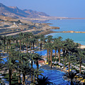 Luxury Resort On The Dead Sea by Carl Purcell
