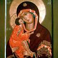 Madonna Religious Art by Carol Jackson
