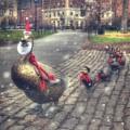 Make Way For Ducklings - Boston Public Garden by Joann Vitali