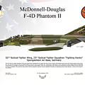 Mcdonnell Douglas F-4d Phantom II by Arthur Eggers