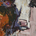 Modern Abstract Cow Painting by Robert Joyner