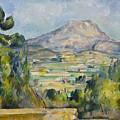 Montagne Saint-victoire by Paul Cezanne