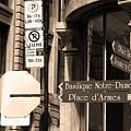 Montreal Street Scene by Frank Romeo