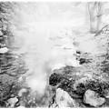 Mountain Stream In Summer Mist by A Gurmankin