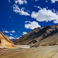 Mountains Of Ladakh Jammu And Kashmir India by Rudra Narayan  Mitra