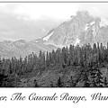 Mt. Baker, Cascade Range, Late Afternoon by A Gurmankin