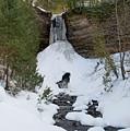 Munising Falls by Linda Kerkau