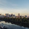 Nashville Tennessee Skyline Sunrise  by Jeremy Holmes