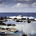 Natural Pools In Porto Moniz, Madeira by Compuinfoto