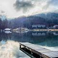 Nature Around Lake Lure Chimney Rock And Broad River North Carol by Alex Grichenko