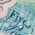 New Uk Five Pound Note by Samuel Whitton