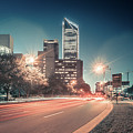 November, 2017, Charlotte, Nc, Usa - Early Morning In The City O by Alex Grichenko