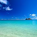 Oahu, Lanikai Beach by Dana Edmunds - Printscapes