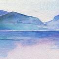 Ocean Watercolor Hand Painting Illustration. by Katya Ulitina