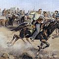 Oklahoma Land Rush, 1889 by Granger