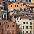 Old Building Background Siena Italy by Songquan Deng