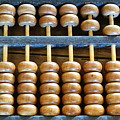 Old Chinese Abacus by Yali Shi