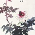Peony by Zhang Daqian