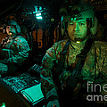 Pilots Sitting In The Cockpit by Terry Moore