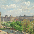 Place Du Carrousel, Paris by Camille Pissarro