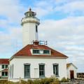 Point Wilson Lighthouse by E Faithe Lester
