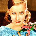 Portrait Of Greta Garbo by Charmaine Zoe