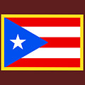 Puerto Rico Flag by Frederick Holiday