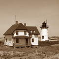 Race Point Lighthouse by Skip Willits