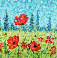 Red Poppies by Cristina Stefan