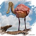Roseate Spoonbill by Larry Linton
