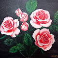 3 Roses by Richard Le Page