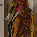 Saint Catherine Of Alexandria by PixBreak Art