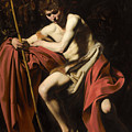 Saint John The Baptist In The Wilderness by Caravaggio