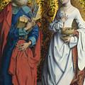 Saints Peter And Dorothy by PixBreak Art