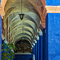 Santa Catalina Convent Arequipa by Colin Woods
