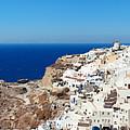 Santorini Skyline by Songquan Deng