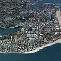 Seagate And Brighton Beach In Brooklyn Aerial Photo by David Oppenheimer